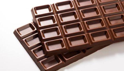 チョコレートを食べると安眠効果?